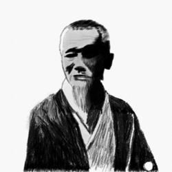 織田杏斎の肖像画