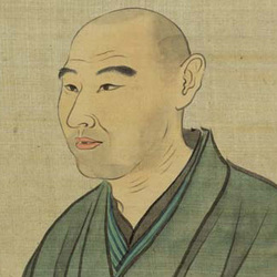 田中 訥言の肖像画